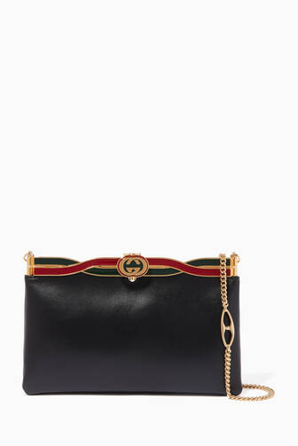 509c3214d33 Gucci. Broadway Leather Evening Chain Shoulder Bag