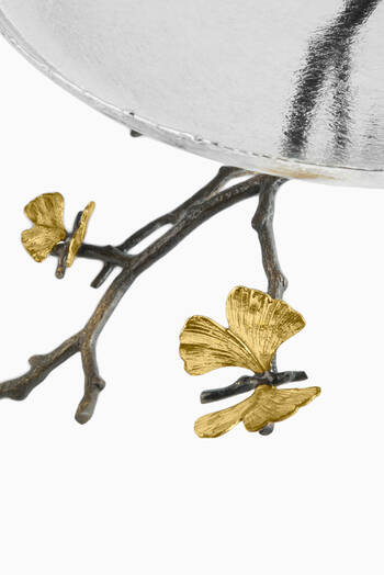 hover state of Butterfly Gingko Two-Tier Etagere