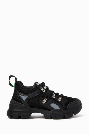 hover state of Daddy Chunky Leather Sneakers