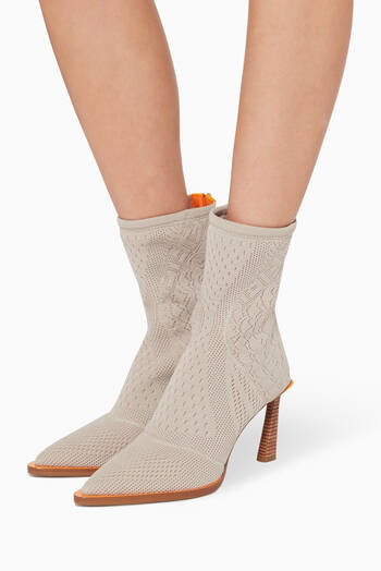 hover state of FFrame High-Tech Jacquard Booties