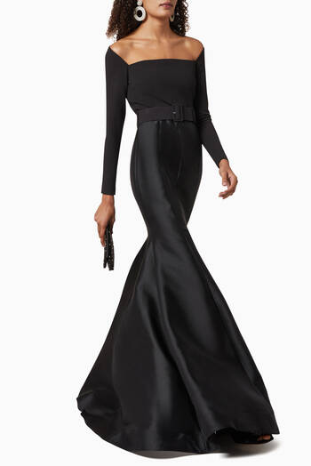 hover state of Mabel Maxi Dress