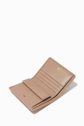 hover state of Matelassé Nappa Leather Square Wallet