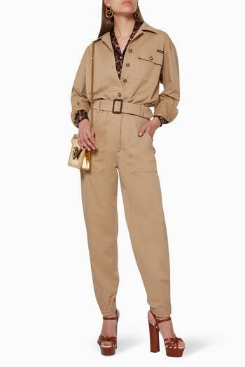 hover state of Safari Cotton Jumpsuit