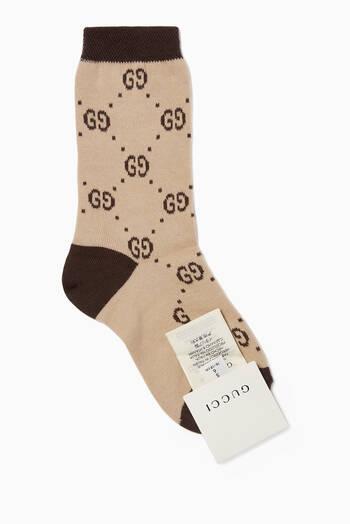hover state of GG Logo Cotton Socks