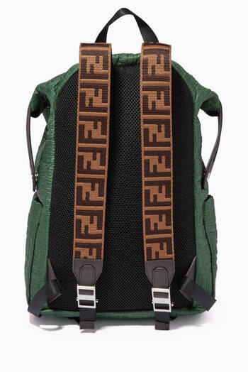 hover state of FF Quilted Backpack in Nylon