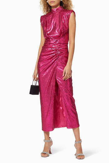 hover state of Rhea Sequin Dress