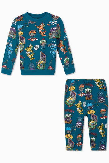 hover state of Music Monsters Cotton Tracksuit