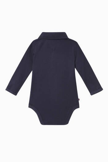 hover state of Organic Cotton Polo Bodysuit Giftbox