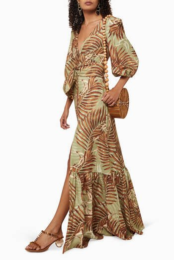 hover state of Palmeira Maxi Dress