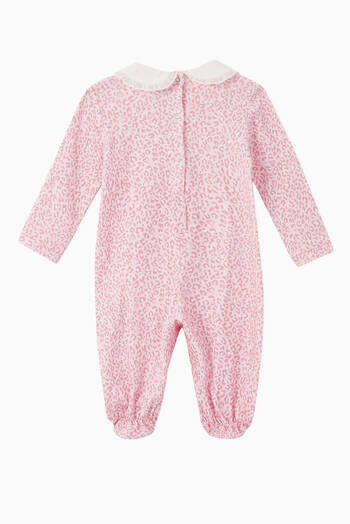 hover state of Alice Patch Jersey Sleepsuit