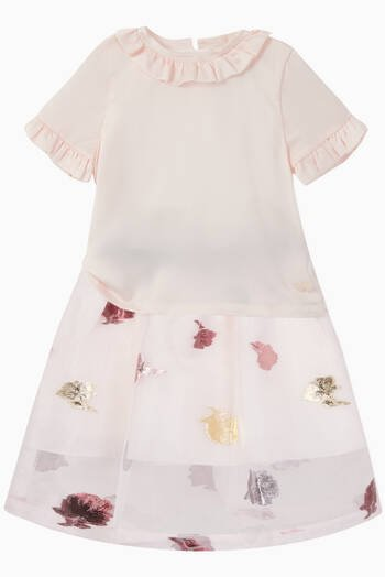 hover state of Rose Gathered Skirt