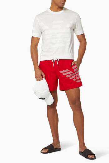 hover state of EA Bold Eagle Swim Shorts