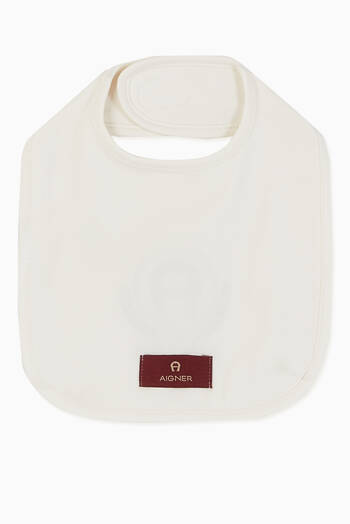 hover state of Laurel Logo Pima Cotton Jersey Bib