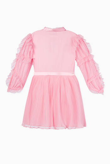 hover state of Aubrey Pleated Dress