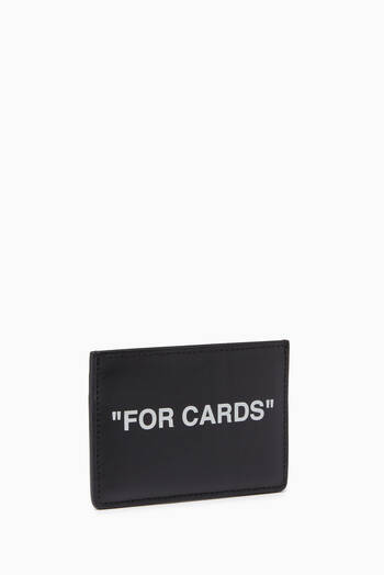 "hover state of ""FOR CARDS"" Cardholder in Leather"