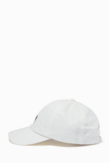 hover state of Stock Low Profile Cap in Cotton