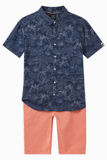 hover state of Palm-Tree Print Shirt