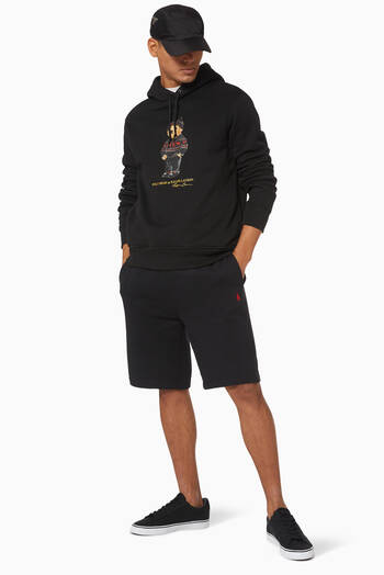 hover state of The Cabin Fleece Shorts