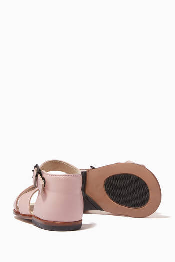 hover state of Athina Sandals in Leather