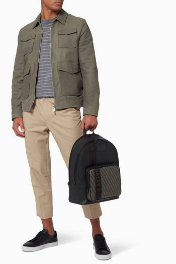 hover state of Sarkis Backpack in Coated Canvas