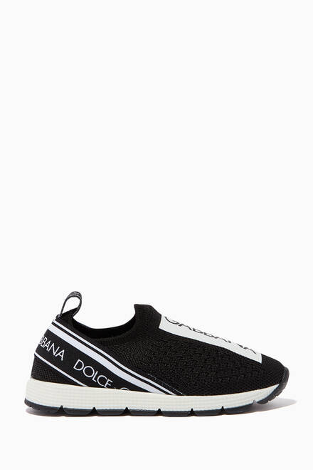 hover state of Logo Slip On Sneakers
