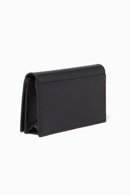 hover state of Black Leather Card Holder