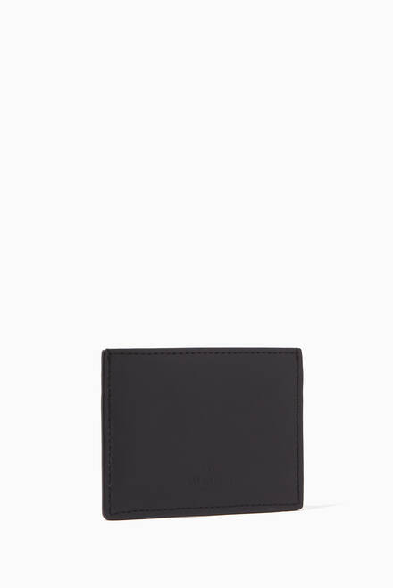 hover state of Black VLTN Card Holder