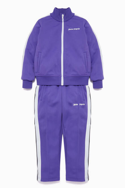 hover state of Purple Classic Track Pants