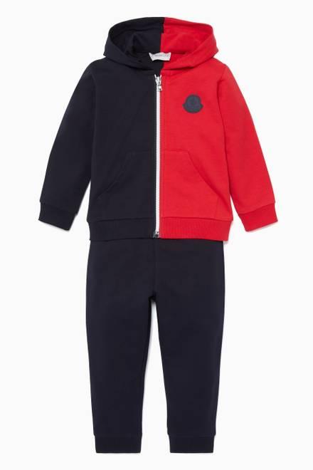 5c00ba0147f36 Shop Moncler Pink Pastel-Pink Joelle Quilted Jacket for Kids   Ounass