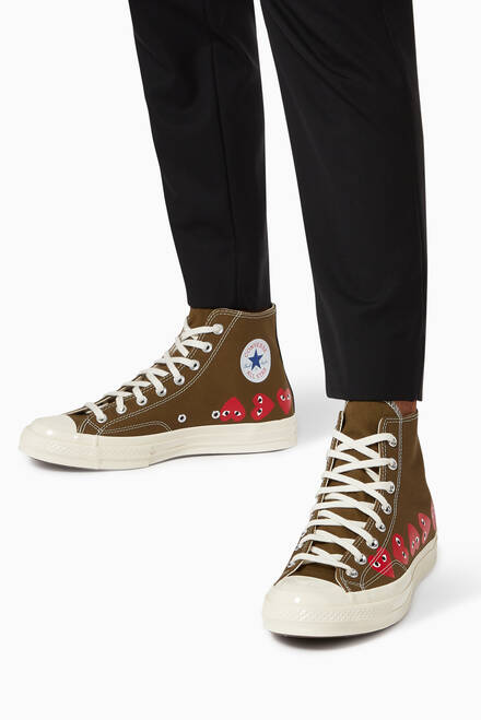 hover state of x Converse Chuck Taylor High-Top Sneakers
