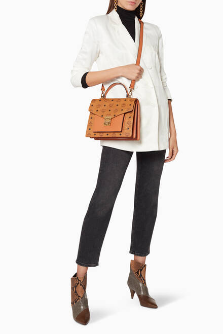 hover state of Patricia Visetos Satchel Bag
