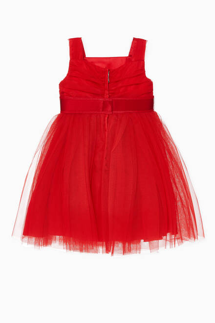hover state of Tulle Tiered Dress