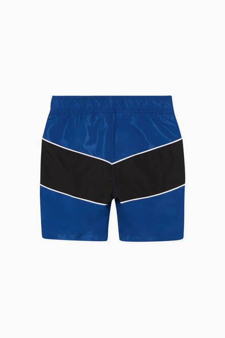 hover state of Colour-Block Swim Shorts