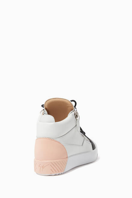 hover state of Kriss Leather Sneakers