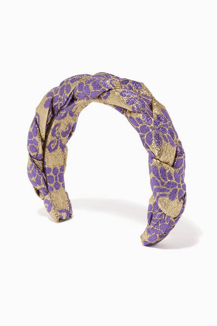 hover state of Honore Floral Headband