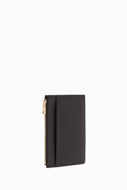hover state of Dauphine Leather Long Card Holder