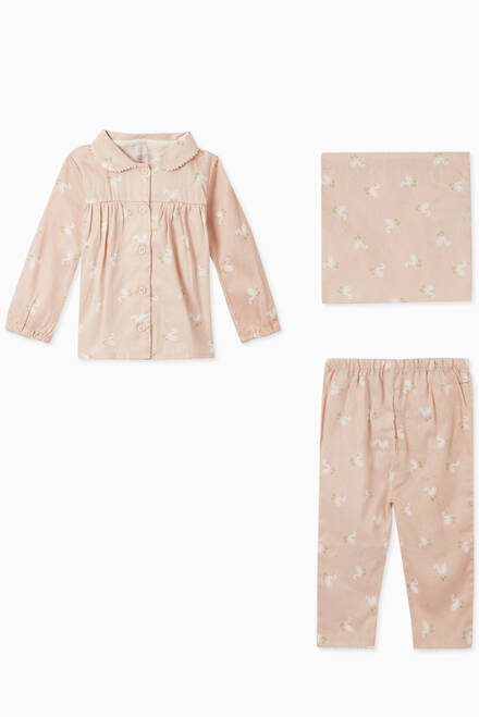 hover state of Swan Cotton Pyjama Set