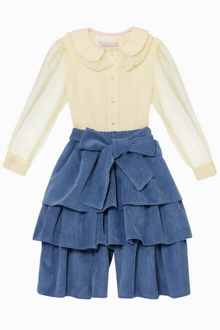 hover state of Ruffled Collar Blouse