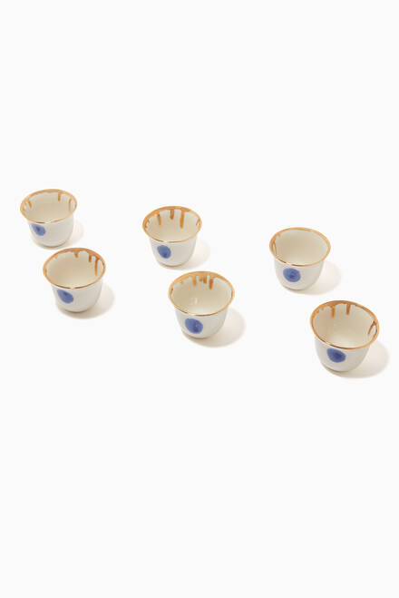 hover state of Credo Istanbul Cult Coffee Cups, Set of 6