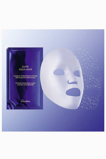 hover state of Super Aqua Sheet Mask, Set of 6