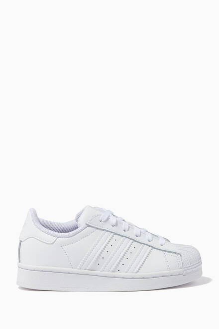 hover state of Superstar Leather Sneakers