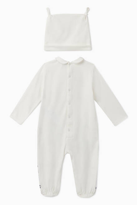 hover state of Manga Bear Cotton Sleepsuit Set