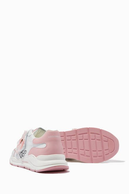 hover state of Power Pastel Sneakers in Leather