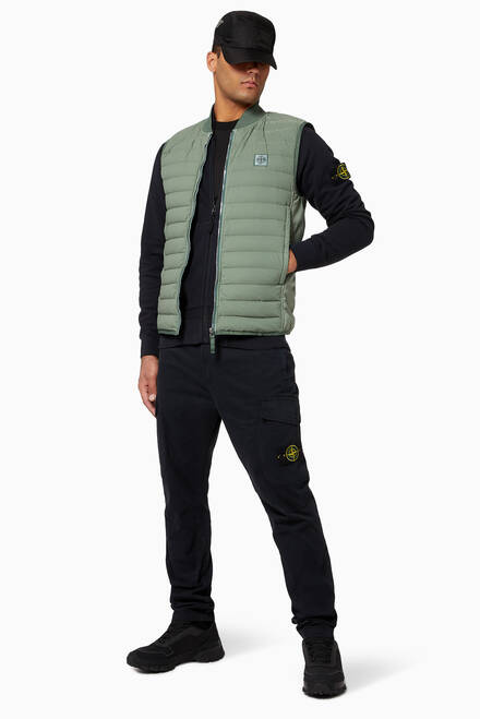 hover state of Real Down Sleeveless Jacket