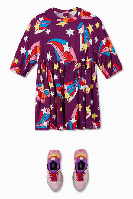 hover state of Shooting Stars Viscose Twill Dress