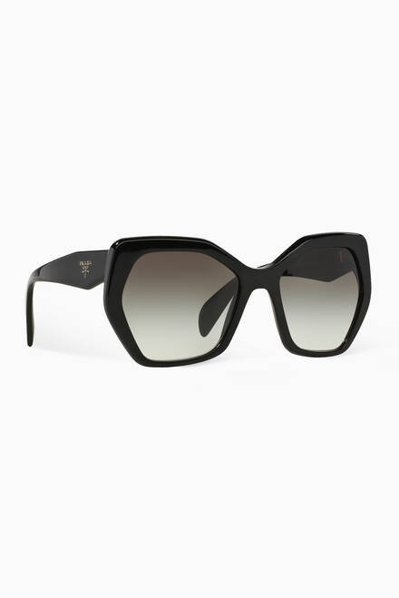 hover state of Irregular Sunglasses in Acetate