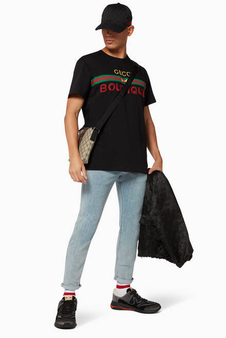 hover state of Boutique Print Oversize T-Shirt