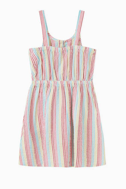 hover state of Stripe Organic Cotton Dress