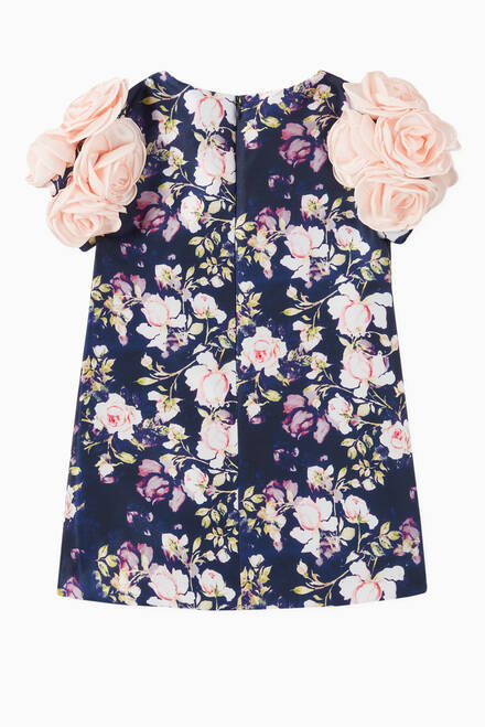 hover state of Floral Print Dress