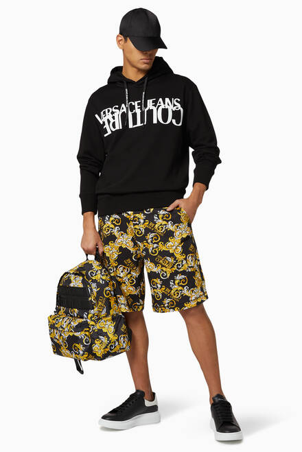 hover state of Logo Baroque Shorts